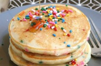 Some about cake batter pancakes…
